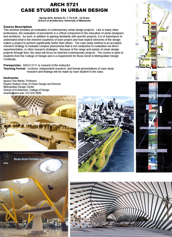 Case Studies in Urban Design |